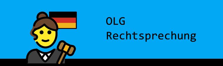 Bild OLG Rechtsprechung